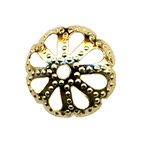 Bead Cap Filigree 9mm