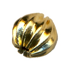 Fluted Bead 6mm
