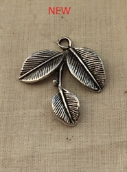Leaf Dangle Pewter