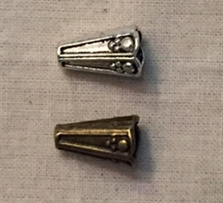 Cone 12x8mm Pewter